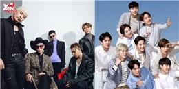 Nhóm nhạc nam Kpop nào nổi tiếng nhất 2016?