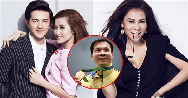 Sao Việt vỡ òa trước tấm HCV của xạ thủ Hoàng Xuân Vinh tại Olympic