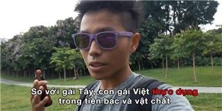 Dân mạng  khẩu chiến  vì vlog sự khác biệt giữa gái Tây và gái Việt