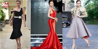 Điểm lại 12 trang phuc đẹp nhất showbiz Việt vừa qua