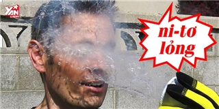 Điều gì sẽ xảy ra nếu tạt nitơ lỏng lên mặt?