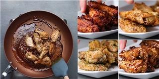 Học ngay 4 kiểu nước sốt chiên cánh gà ngon tuyệt