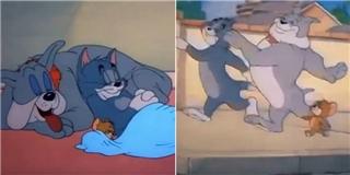 Cười thả ga với clip  Tom & Jerry  hòa thuận trên nền nhạc Sơn Tùng
