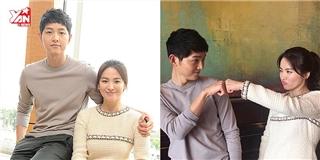 Dù không gặp nhau, Song Hye Kyo vẫn quan tâm Song Joong Ki thế này