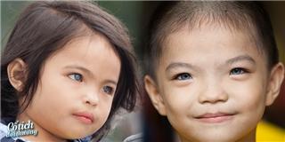 [Cổ Tích Đời Thường] Thương thay phận  mồ côi  của hai anh em có đôi mắt xanh kì lạ