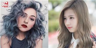 Gợi ý 4 màu tóc khói  hot  nhất mùa thu năm nay