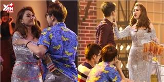 Hari Won và những bộ váy áo  tố cáo  mỡ thừa lộ liễu