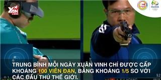 Hoàng Xuân Vinh - Nhà vô địch Olympic 2 lần mất mẹ