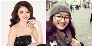 Nhan sắc  trong vắt  như thiên thần của tân Hoa hậu Việt 20 tuổi