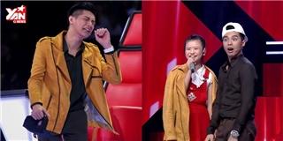 HLV  Giọng hát Việt nhí 2016  đấu khẩu tranh giành thí sinh