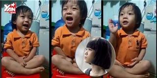 Em bé 3 tuổi hát Như một giấc mơ