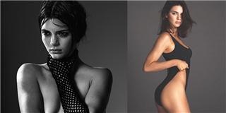 Vì quá  nóng , bức ảnh của Kendall Jenner bị loại khỏi tạp chí