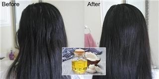4 công thức làm mặt nạ tóc cùng dầu dừa siêu đơn giản mà hiệu quả