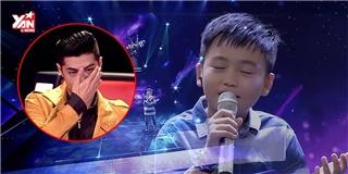 Giọng hát nhí khiến Noo Phước Thịnh bật khóc và cảm thấy có lỗi với mẹ