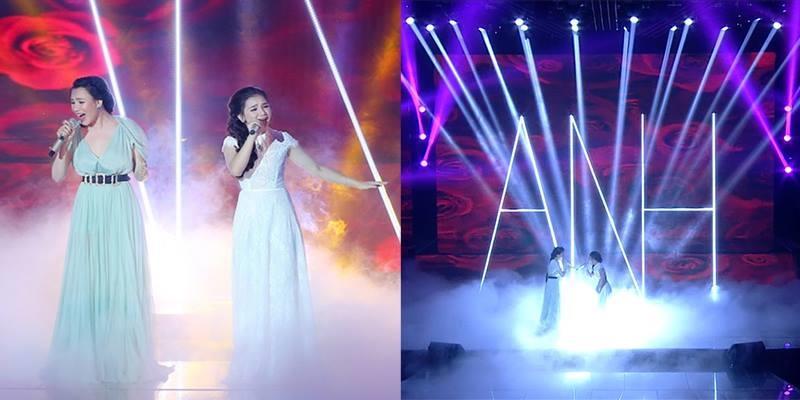 """Hồ Quỳnh Hương và gà cưng tái hiện 2 bản hit """"Anh - Có nhau trọn đời"""""""