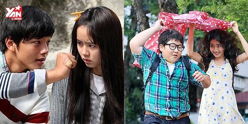 10 mối tình thuở nhỏ không thể quên trong phim Hàn