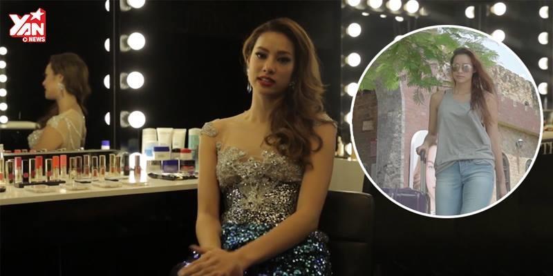 Thí sinh mạnh nhất đội Hà Hồ, Lilly Nguyễn, trải lòng trước khi rời khỏi nhà chung