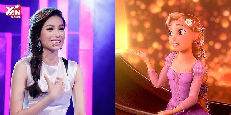 Chiều fan, Phạm Hương hát nhạc phim Disney siêu hay