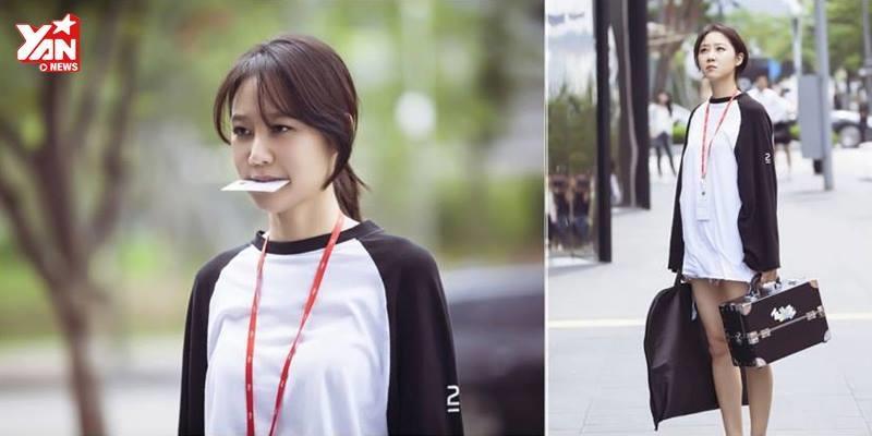 """Những biểu cảm đáng yêu của """"nữ hoàng phim hài lãng mạn"""" Gong Hyo Jin"""