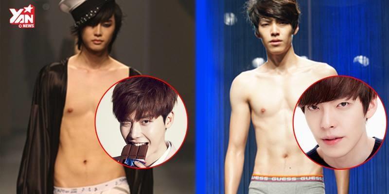 """Những mĩ nam """"vạn người mê"""" xứ Hàn từng là người mẫu nội y"""