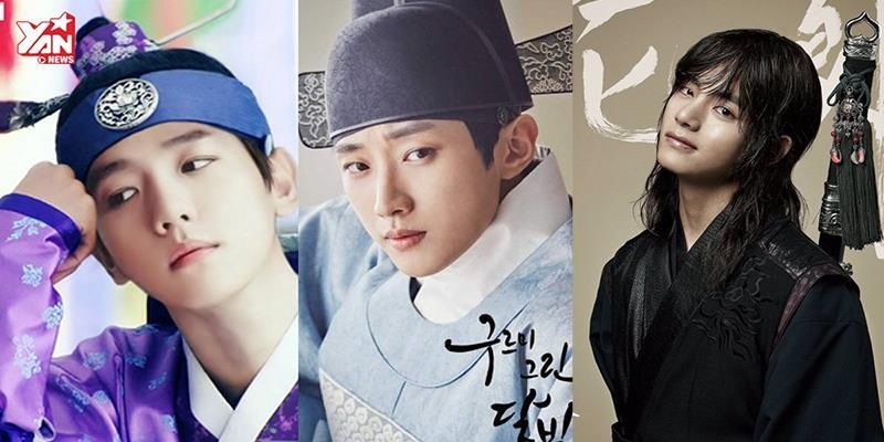 """3 mỹ nam Kpop khiến fan """"ngơ ngẩn"""" bởi tạo hình cổ trang cực đẹp"""