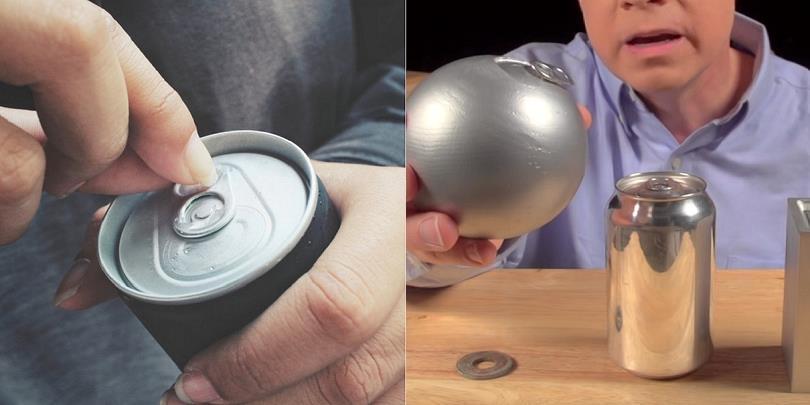 Tại sao lon nước giải khát lại có thiết kế hình trụ tròn?