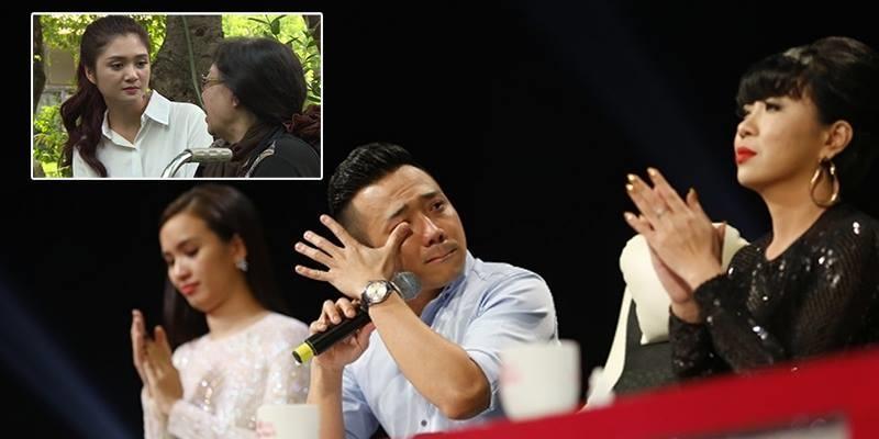 """Trấn Thành khóc đỏ mắt vì """"hành động đẹp"""" của thí sinh vòng eo 56 cm"""