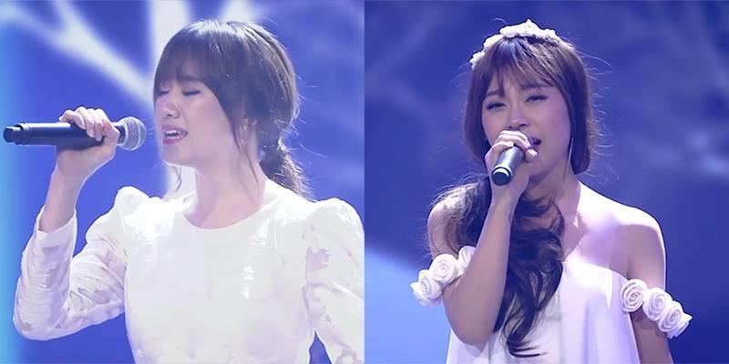 """Hari Won song ca """"Anh cứ đi đi"""" với bản sao của chính mình"""