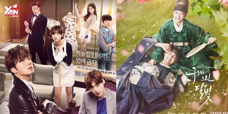7 bộ phim Hàn toàn trai xinh gái đẹp không thể bỏ qua trong tháng 8