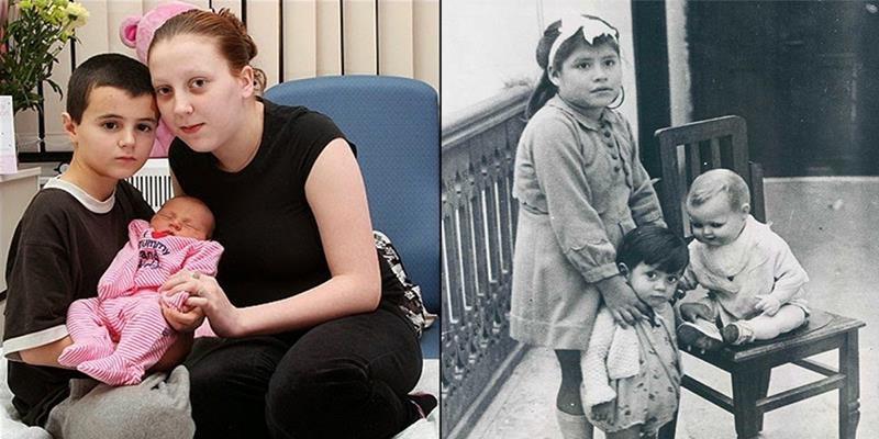 Li kì chuyện những ông bố bà mẹ nhỏ tuổi nhất thế giới