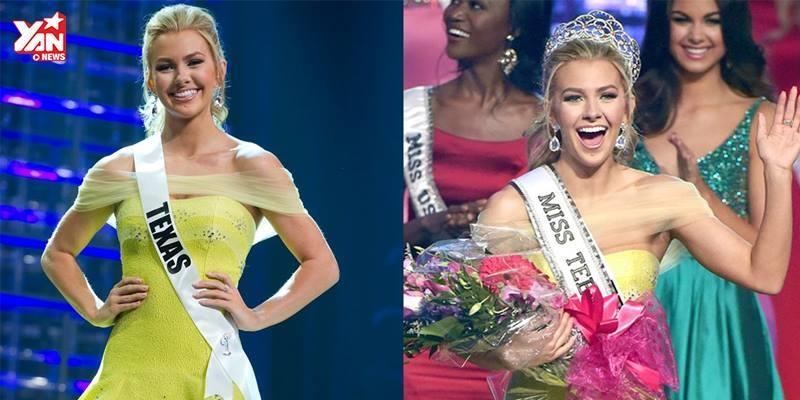 Cận cảnh vẻ đẹp rạng rỡ của hoa hậu tuổi teen nước Mỹ