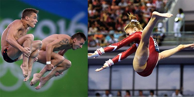"""""""Cười té ghế"""" với những khoảnh khắc siêu bựa của các vận động viên Olympic"""