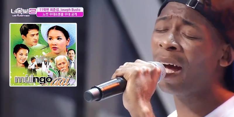 Anh da đen hát nhạc phim Mùi Ngò Gai khiến cư dân mạng Việt thích thú