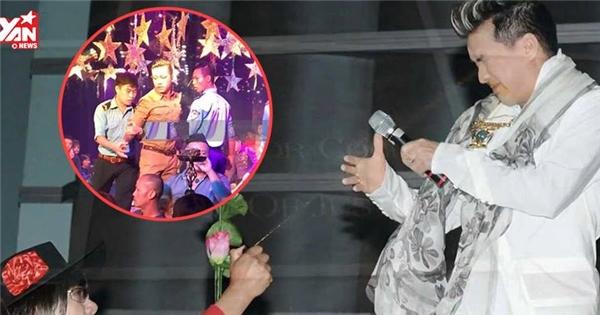 Sao Việt và muôn vàn tai nạn bị tấn công trên sân khấu