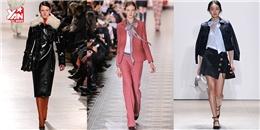 Học tập những xu hướng thời trang 'hot' nhất mùa thu đông 2016