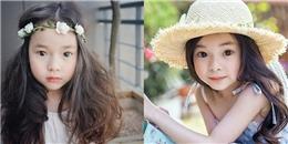 Đứng tim trước vẻ đẹp trong sáng của 'thiên thần buồn' 6 tuổi