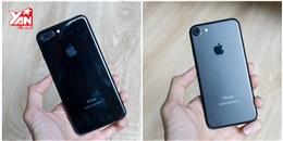 Trên tay 2 màu đen iPhone 7: dễ trầy xước, bám dấu vân tay