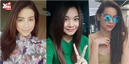 Chán cầu kỳ, tóc thẳng dài là xu hướng mỹ nhân Việt đang theo đuổi