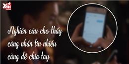 Nghiên cứu cho thấy càng nhắn tin nhiều càng dễ chia tay