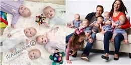 'Mê mệt' ngắm ca sinh 5 bé gái đẹp như thiên thần