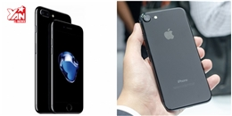 Đang 'cháy hàng' iPhone 7/ 7 Plus màu đen bóng Jet Black