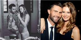 Adam Levine hạnh phúc cùng vợ chào đón con gái đầu lòng