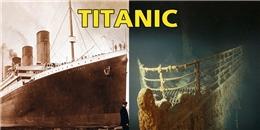 Xót lòng ảnh tàu Titanic huyền thoại sau hơn một thế kỉ dưới đại dương