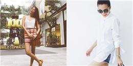 Tăng Thanh Hà, Lan Khuê mặc đơn giản dẫn đầu sao mặc đẹp tuần qua