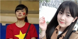 Nữ CĐV Việt khóc trên khán đài 2 năm trước giờ thay đổi ra sao?