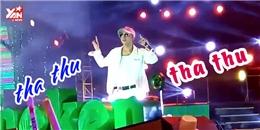 Khán giả hô vang 'Tha thu' khi Sơn Tùng hát trên sân khấu