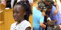 Thế giới rúng động với bài phát biểu của bé gái da màu 9 tuổi