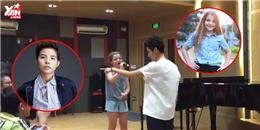 Vũ Cát Tường tung clip thiên thần Nga Milana hát tiếng Việt cực hay