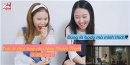 Gái Hàn phấn khích trong lần đầu xem MV của Noo Phước Thịnh