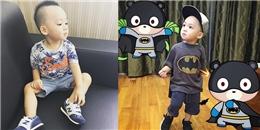 Con trai siêu mẫu Ngọc Thạch: thiếu gia nhí ngày càng ra dáng hot boy